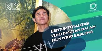 Cerita Vino Bastian saat berperan sebagai Wiro Sableng.