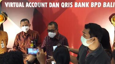 Kepala BI Bali, Trisno Nugroho (memakai kacamata) Resmikan QRIS di RSUP Sanglah
