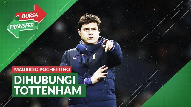 Berita Video Bursa Transfer Ingin Tinggalkan PSG, Mauricio Pochettino Kembali ke Tottenham Hotspur?