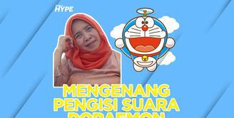 Mengenang Pengisi Suara Doraemon Nurhasanah Iskandar yang Meninggal Dunia