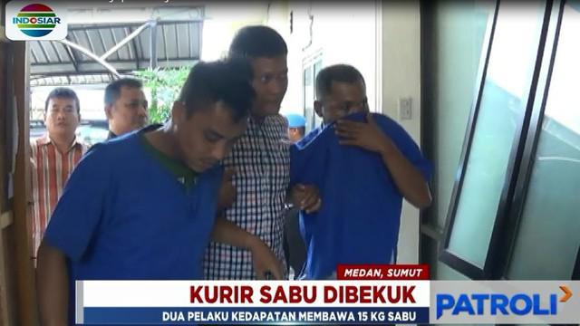 Keduanya berperan sebagai kurir dari Kota Tanjung Balai untuk diedarkan ke sejumlah kota di Sumatra Utara.