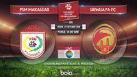 PSM Makassar Vs Sriwijaya FC (Bola.com/Adreanus Titus)