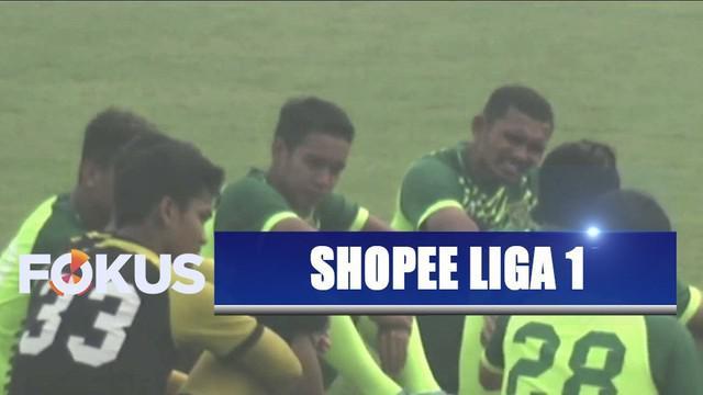 Persebaya menang hadapi Kalteng Putra di laga Shopee Liga 1 di Stadion Tuah Pahoe, Palangkaraya.