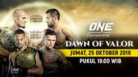 Saksikan Live Streaming One Championship Dawn Of Valor
