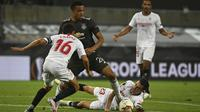 Sevilla sukses melangkah ke final Liga Europa usai menaklukkan Manchester United (MU) pada partai semifinal di RheinEnergie, Senin dinihari WIB (17/8/2020).