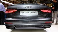 Audi A6 SS TFS Quattro hadir di Paris Motor Show 2018. (Carscoops