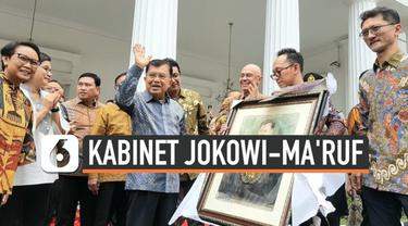 Presiden Joko Widodo resmi melantik kabinet kerja jilid dua, Rabu (23/10/19). Terkait hal ini, mantan Wakil Presiden Jusuf Kalla memberikan tanggapannya. Salah satunya, JK meminta masyarakat untuk menilai para kabinet Jokowi setelah lima tahun bekerj...