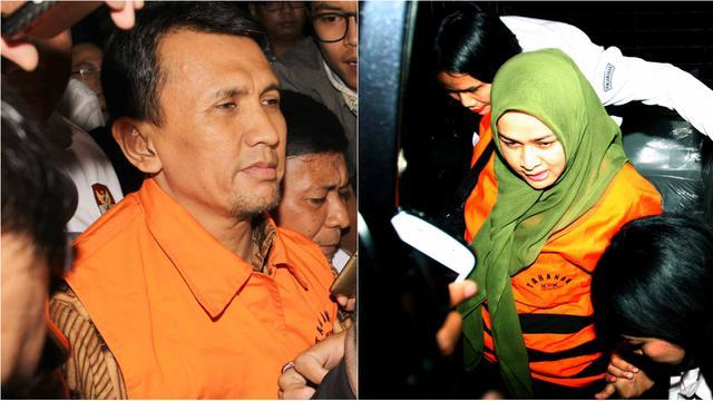Razman Arief Mundur Jadi Pengacara Gubernur Gatot dan Istri