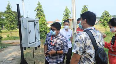 KLHK menyebutkan kualitas air dan udara di wilayah Kabupaten Cilacap masih dalam ambang batas wajar dan aman, pasca kebakaran tangki di area 39 Kilang Pertamina Cilacap. (Dok Pertamina)