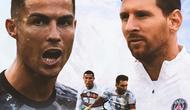 Ilustrasi - Cristiano Ronaldo dan Lionel Messi (Bola.com/Adreanus Titus)