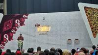 Menteri Perindustrian Airlangga Hartarto di pembukaan Pameran Gelar Batik Nusantara, di JCC, Jakarta. Dok Merdeka.com/Wilfridus Setu Umbu