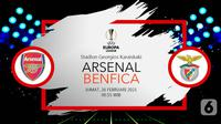 Arsenal vs Benfica (liputan6.com/Abdillah)