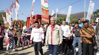 Pasangan Gubernur dan Wakil Gubernur Jawa Tengah, Ganjar Pranowo-Taj Yasin Maimoen dinilai sudah sesuai jalur atau on the track