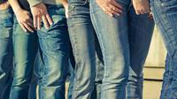 Inilah perubahan celana jeans yang akan membuat kamu tercengang.