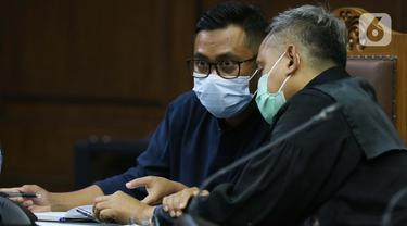 Andi Irfan Jaya Jalani Sidang Lanjutan Perantara Suap dari Djoko Tjandra kepada Jaksa Pinangki Sirna Malasari