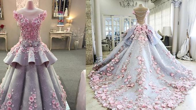 Gaun Pengantin Ini Anggun Cantik Sayang Tak Bisa Dipakai