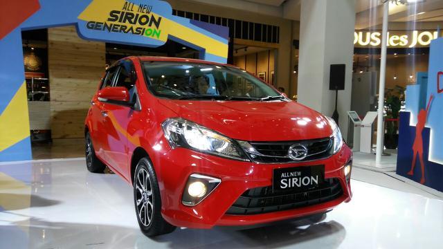 All New Daihatsu Sirion Arief Liputan6