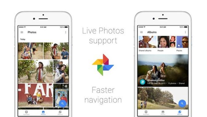 Google Photos for iOS. softpedia.com