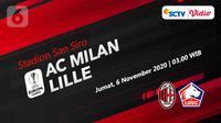AC Milan vs Lille (Liputan6.com/Abdillah)