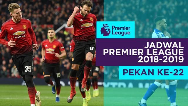 Berita video jadwal Premier League 2018-2019 pekan ke-22. Tottenham Hotspur hadapi Manchester United.