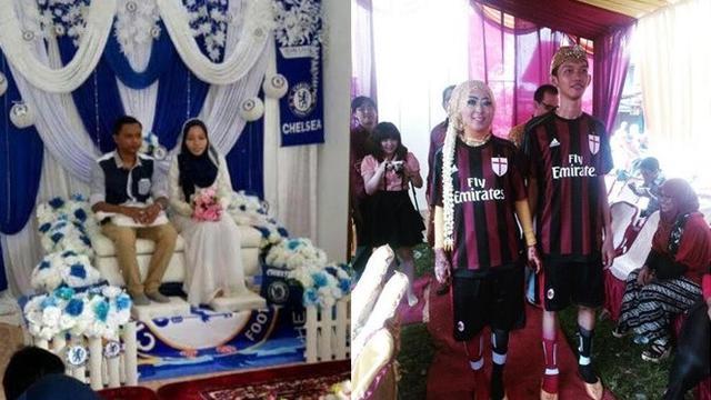 Jadi Fans Berat, Ini 6 Potret Pernikahan Bertema Klub Sepak Bola - Hot  Liputan6.com
