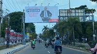 Foto Baliho Sahroni Presiden di Palembang. (foto: istimewa).