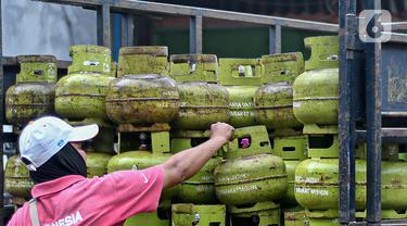 FOTO: Rencana Alokasi Dana Subsidi LPG 3 Kg
