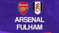 Premier League - Arsenal Vs Fulham (Bola.com/Adreanus Titus)