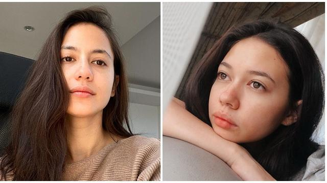 7 Pesona Artis Wanita Blasteran Tanpa Makeup Tampil Natural Hot Liputan6 Com