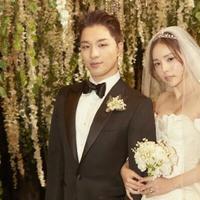 Pernikahan Taeyang dan Min Hyo Rin. (Soompi)