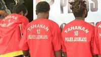 Polres Jayawijaya menetapkan 14 orang pelaku rusuh Wamena. (Liputan6.com/Stefanus Tarsi/Katharina Janur)