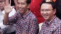 Kemeja kotak-kotak khas Jokowi-Ahok saat kampanye Pilkada DKI Jakarta