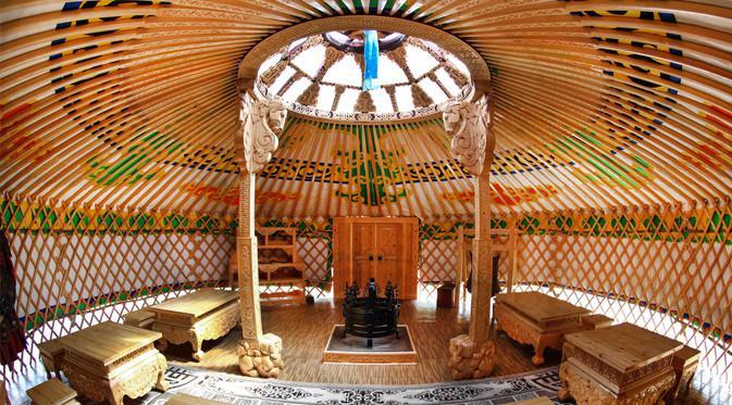 Mongolian Culture Center didesain langsung oleh arsitek asal Mongol.