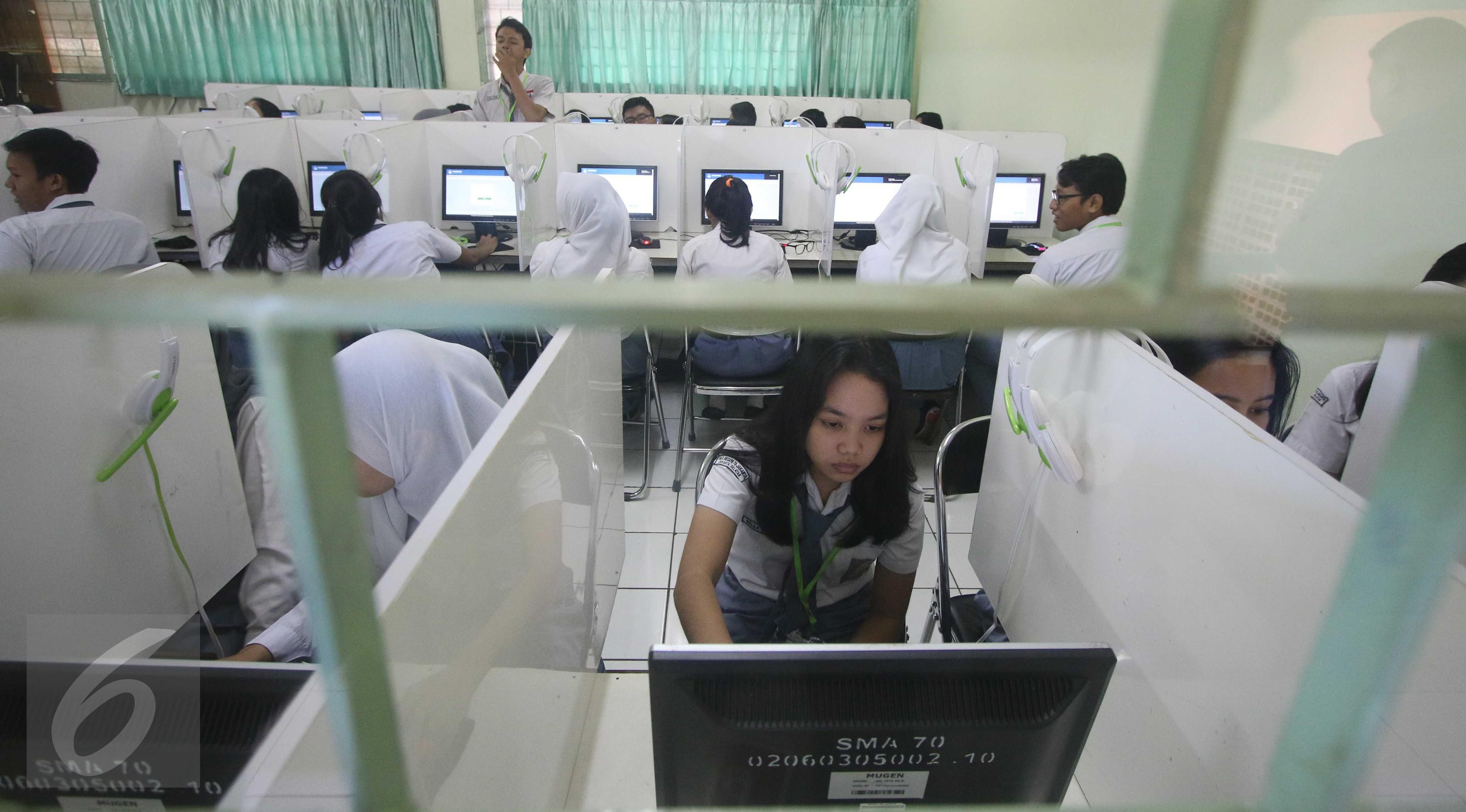 Ilustrasi Ujian Nasional. (Liputan6.com/Gempur  M Surya)