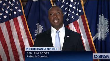 Senator Tim Scott dari Partai Republik.