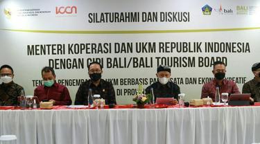 Menteri Teten Masduki di Bali