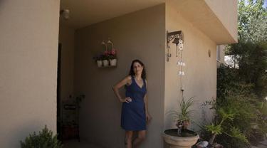 Idit Harel Segal, seorang warga Israel telah mendonorkan ginjalnya untuk seorang anak asal Palestina (AP)
