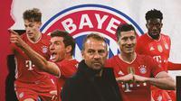 Skuad Bayern Munchen. (Bola.com/Dody Iryawan)