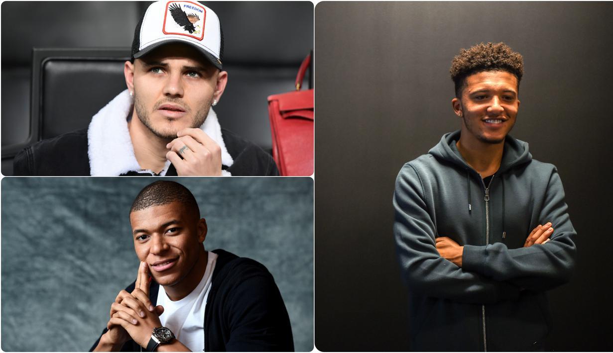 Bursa transfer pemain musim panas 2019 belum berakhir. Majalah Match mengulas 5 pemain yang paling diburu oleh klub besar Eropa pada bursa transfer pemain. Generasi pesepak bola dunia ini yang nantinya akan menggantikan era Ronaldo, Messi dan Neymar nantinya.