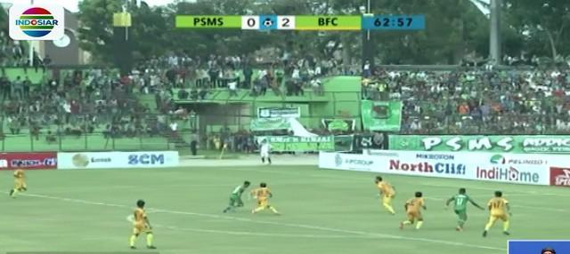 Dari lanjutan pertandingan pekan kedua kompetisi Liga 1 2018 antara PSMS Medan menjamu Bhayangkara FC di Stadion Teladan Medan, PSMS takluk dari tamunya Bhayangkara FC.