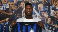 Inter Milan meminjam Balde Keita dari AS Monaco selama semusim pada Senin (13/8/2018). (dok. Inter.it)