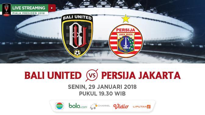 Indosiar Streaming Facebook: Live Streaming Indosiar Piala Presiden: Bali United Vs