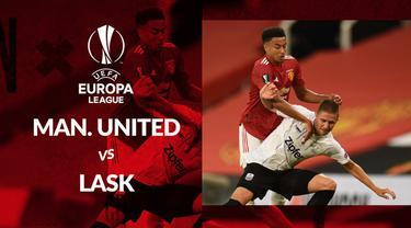 Berita motion grafis statistik Manchester United vs LASK pada lanjutan 16 besar Liga Europa leg kedua.