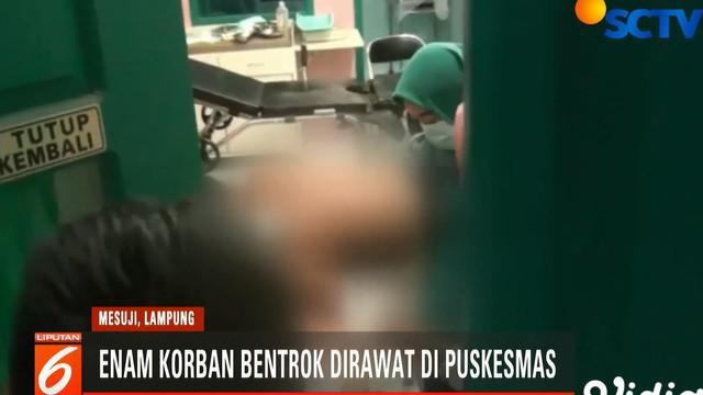 Salah seorang korban mengatakan, bentrok di Lahan Register 45 Mesuji terjadi karena ada sekelompok preman yang mengklaim lahan milik warga.