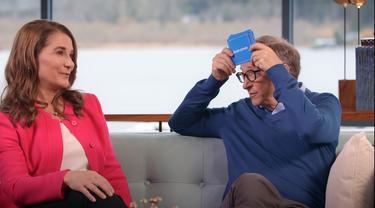 Bill Gates dan Melinda di video Gates Foundation.