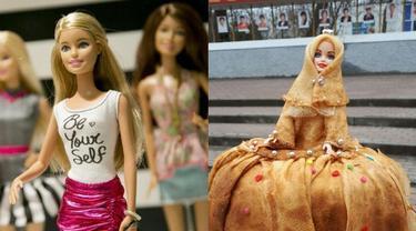 Unik, Ini 6 Potret Baju Boneka yang Terbuat dari Makanan