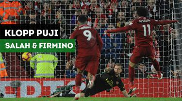 Berita Video Pujian Untuk Mo Salah dan Firmino Usai Liverpool Kalahkan Arsenal 5-1