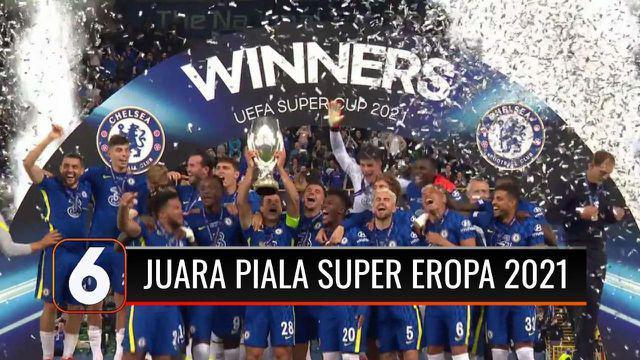 Chelsea jadi Juara Piala Super Eropa 2021 usai kalahkan Villarreal melalui adu penalti dengan skor 6-5. Piala Super Eropa ini merupakan gelar pertama yang berhasil diraih pasukan Thomas Tuchel di musim kompetisi 2021-2022.