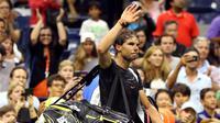 Rafael Nadal Tersingkir dari Grand Slam Amerika Serikat Terbuka (STREETER LECKA / GETTY IMAGES NORTH AMERICA / AFP)