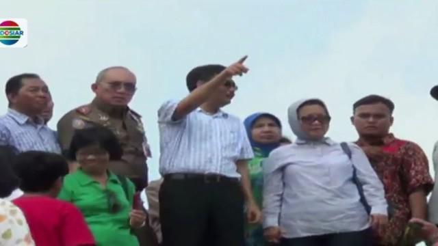 Gubernur DKI, Djarot Saiful Hidayat tinjau langsung RPTRA dan RTH Kalijodo, Jakarta Utara.